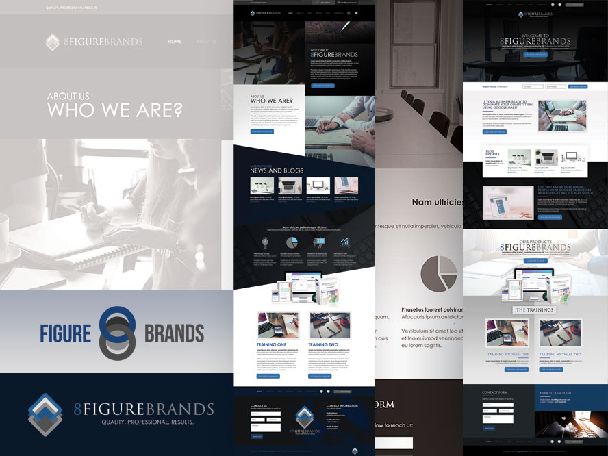 8FigureBrands Web Design