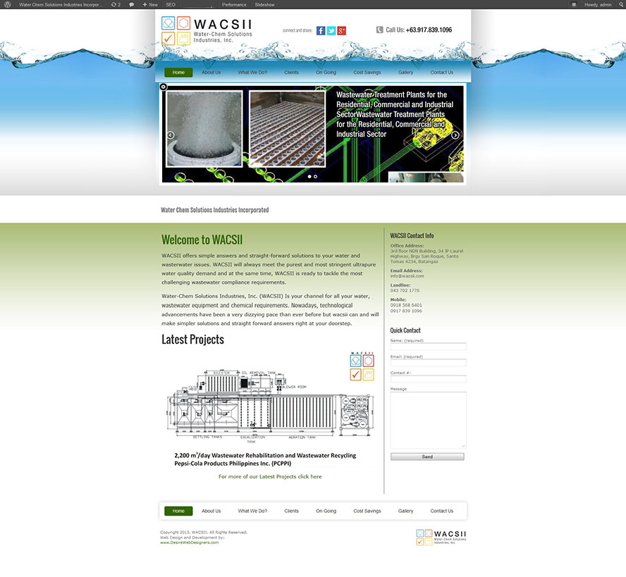 old wacsii website